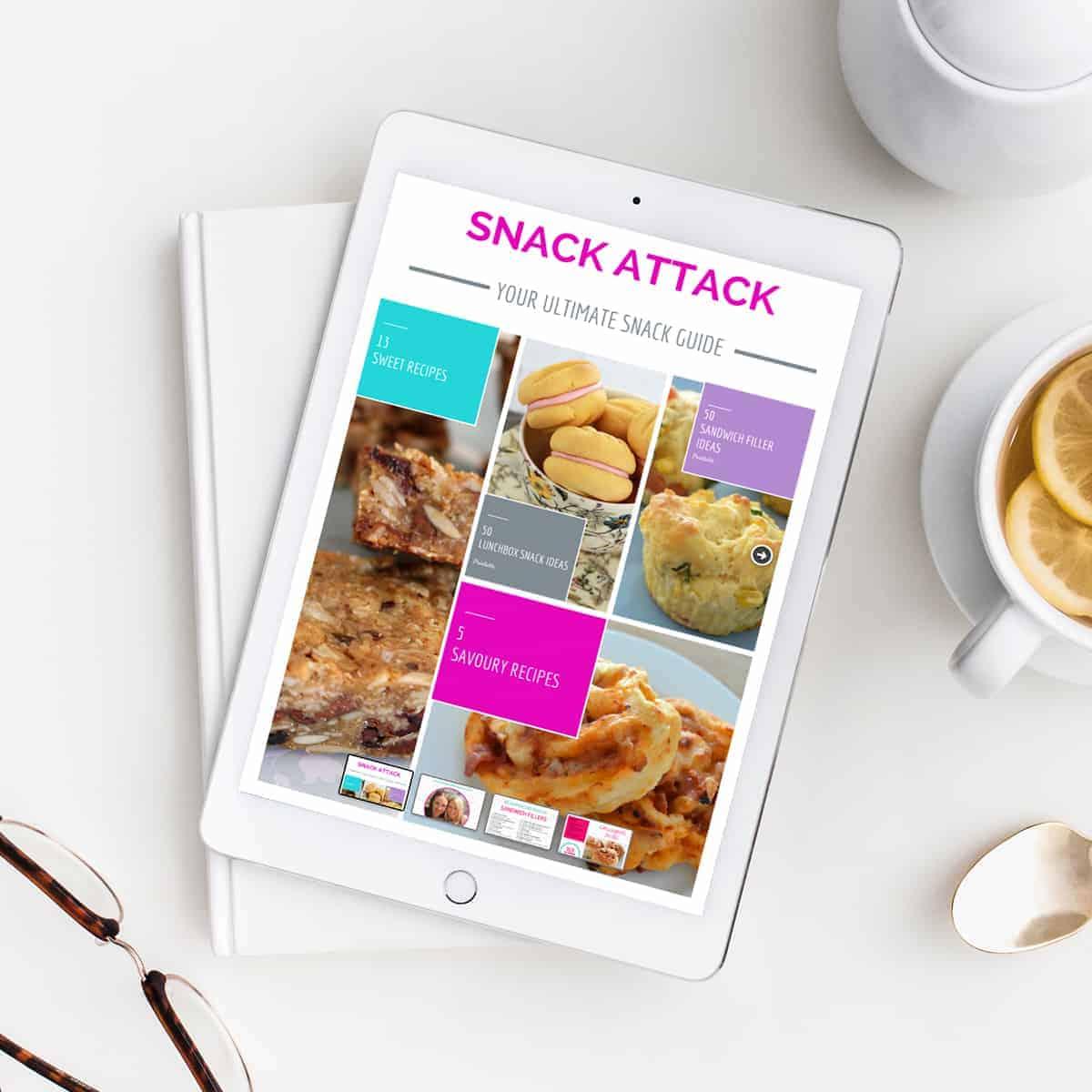Snack Attack Recipe - Bake Play Smile