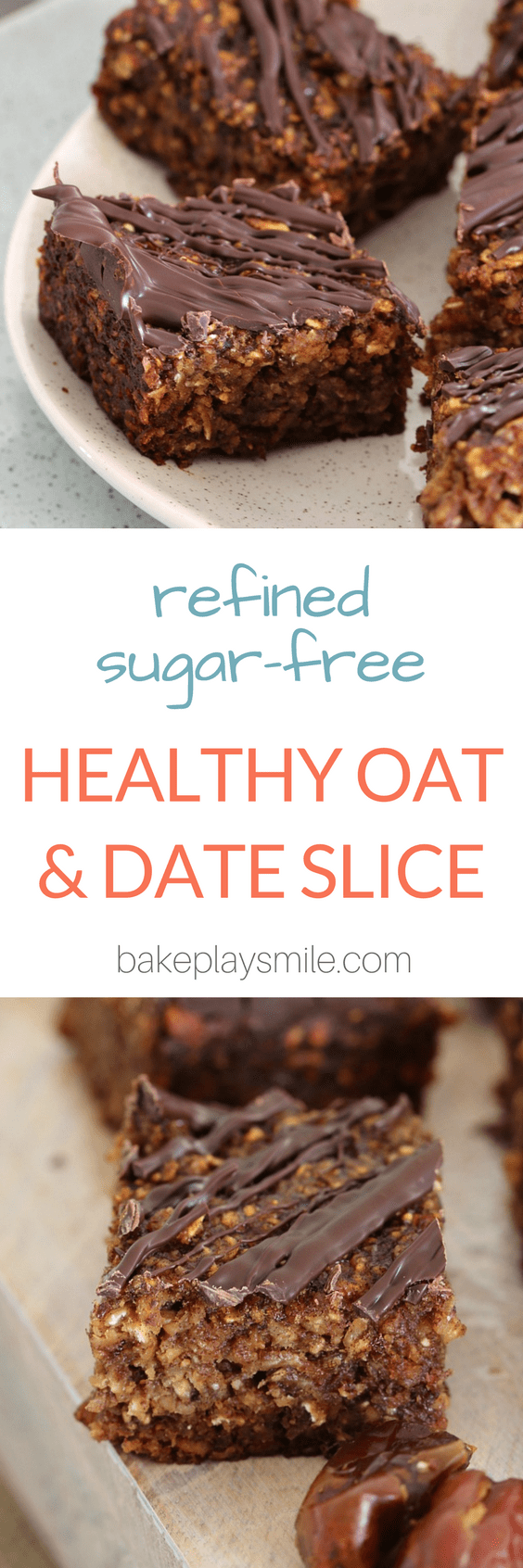 Healthy Oat & Date Slice