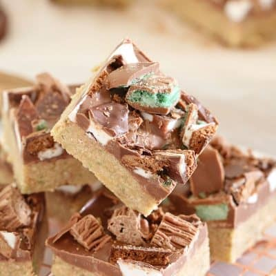 Chocolate Mint Slice | No Bake