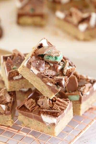Chocolate Mint Slice | No Bake