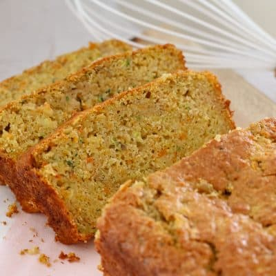 Apple, Zucchini & Carrot Bread
