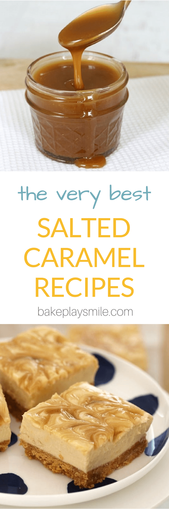 The ultimate collection of the VERY BEST SALTED CARAMEL RECIPES!! With everything from cheesecake to mud cake, brownies to slices, homemade sauce and frosting... YUM!