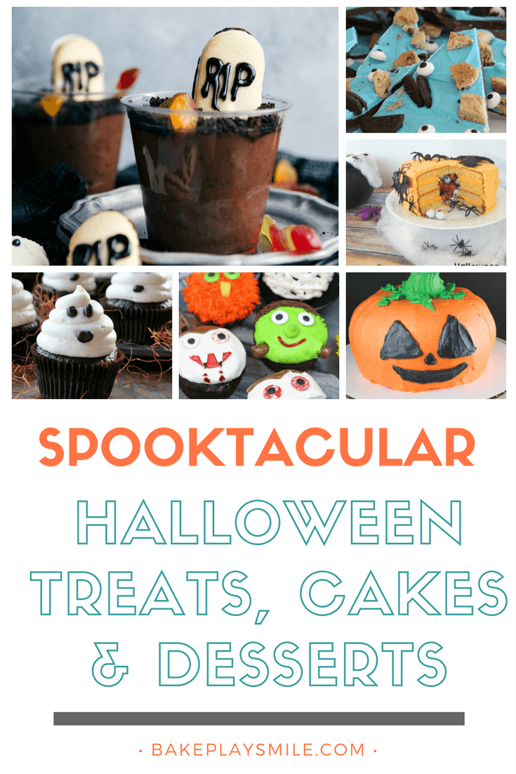 Get ready for the most delicious Halloween ever with our collection of the very best (and ghoulishly yummy) Halloween Treats, Cakes & Desserts!