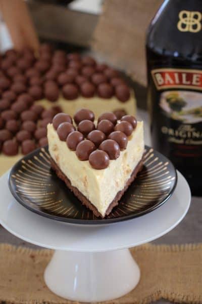 Baileys Malteser Cheesecake | No-Bake