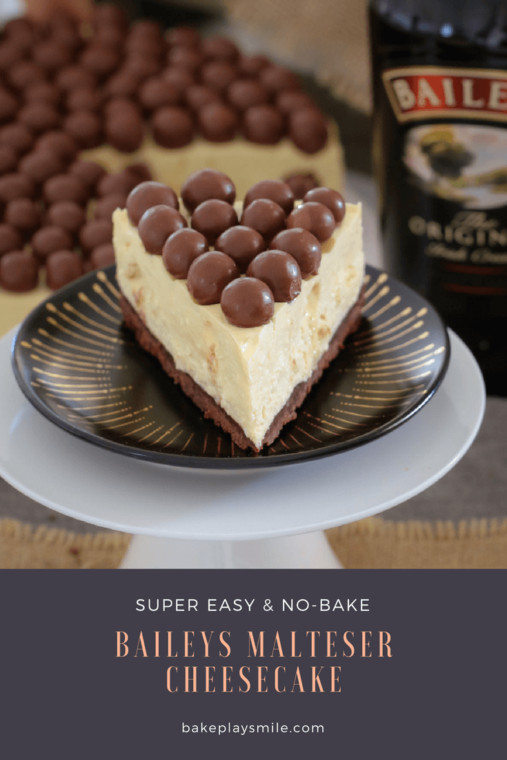 Baileys Malteser Cheesecake No Bake Bake Play Smile