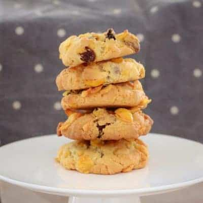 Crunchy Chocolate Chip & Sultana Cornflake Cookies