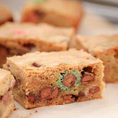 Easter Egg Cookie Slice | 1 Bowl Recipe