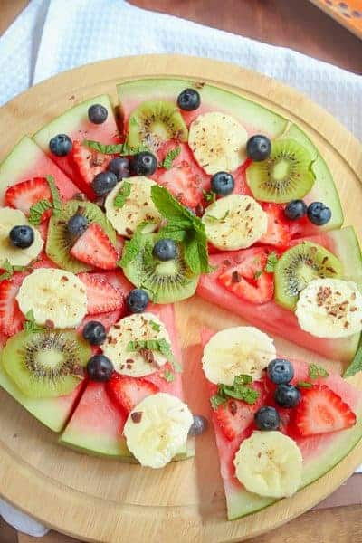 Healthy Watermelon Pizza
