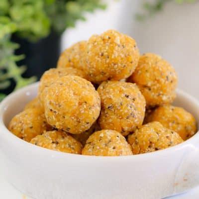 Healthy Apricot, Coconut & Chia Balls