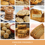 A collection of the very best freezer friendly lunch box recipes - including our most popular muesli bars, muffins, scrolls, cookies, loaves, breads and savoury snacks.