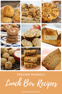 A collection of the best freezer-friendly recipes for lunch boxes - including our most popular granola bars, muffins, scrolls, cookies, breads, breads, and savory snacks.