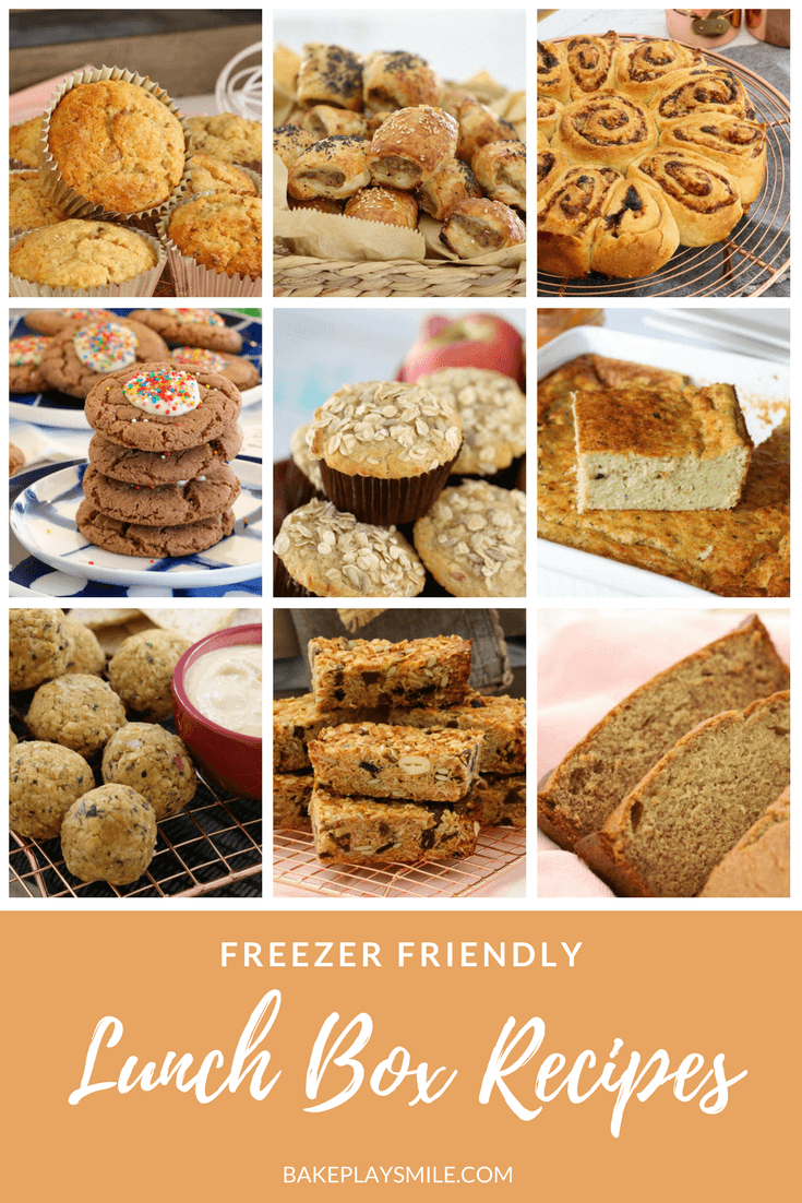 A collection of the very best freezer friendly lunch box recipes - including lots of easy sweet and savoury options that your kids will love! All recipes come with both conventional and Thermomix instructions.