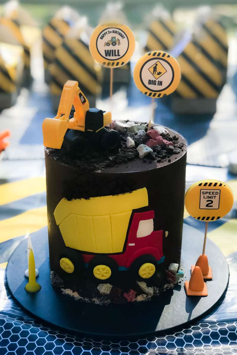 Remarkable The Best Digger Party Ideas And Recipes Kids Parties Bake Play Funny Birthday Cards Online Elaedamsfinfo
