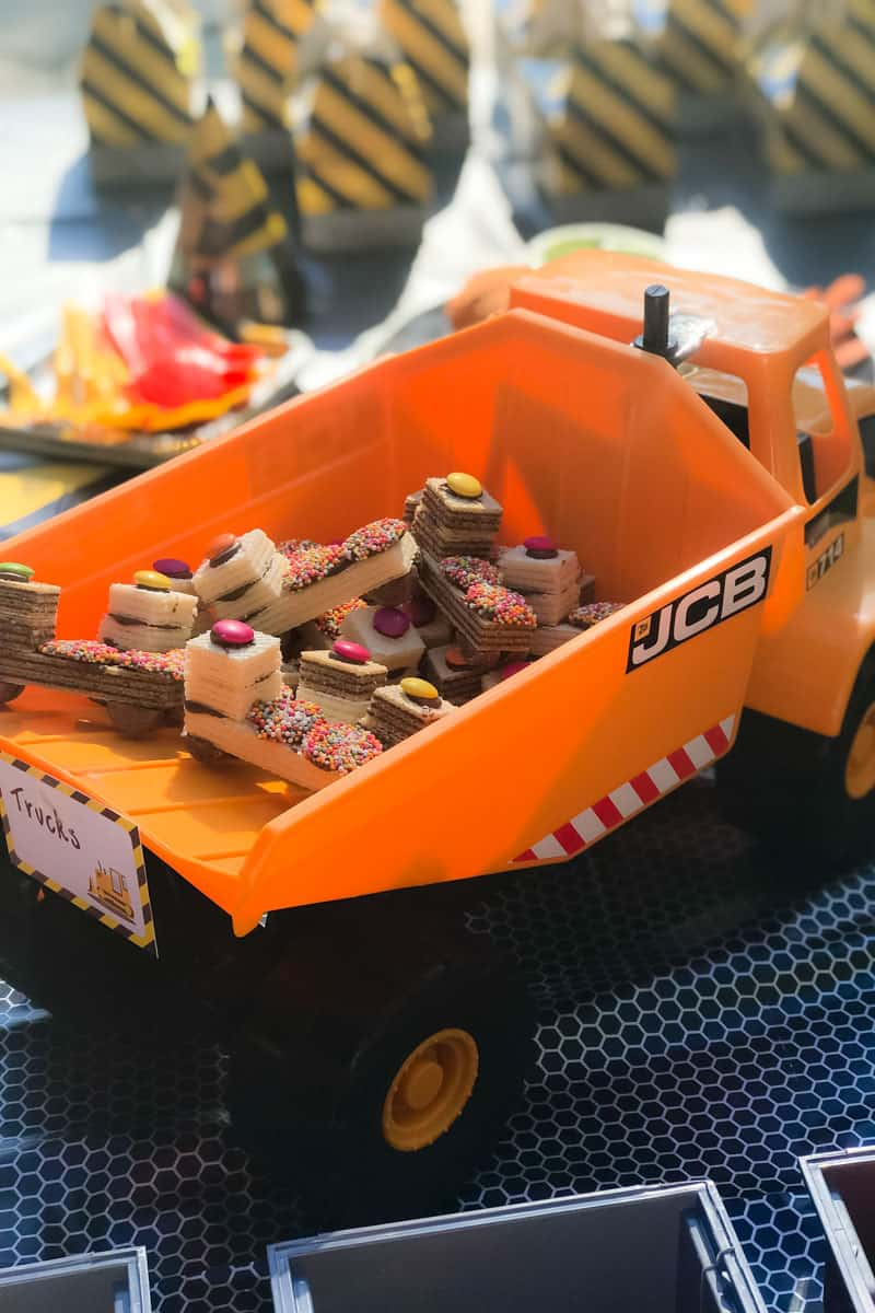 These Digger Party Ideas And Recipes Will Make Planning Your Little Ones Construction Themed A
