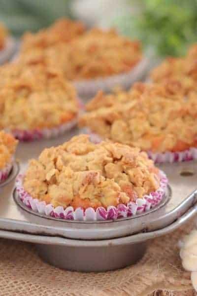 Apple Crumble Muffins | Lunch Box Recipe