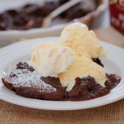 Old Fashioned Chocolate Self-Saucing Pudding | Winter Dessert