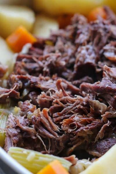 Slow Cooker Roast Beef | One Pot Dinner