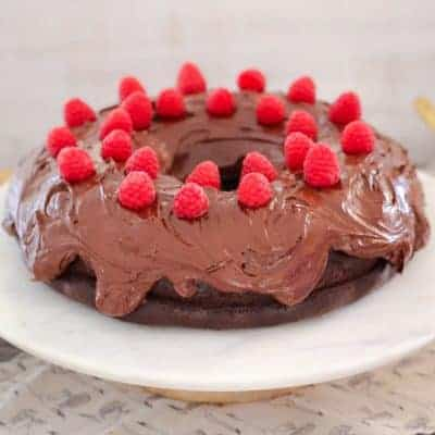 Easy Chocolate Mud Cake with Chocolate Frosting