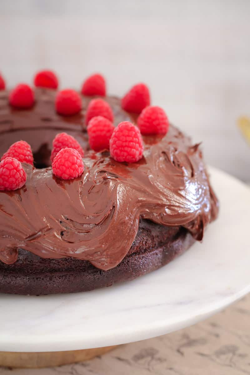 Easy Rich Chocolate Cake Thermomix
