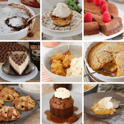 Easy Winter Dessert Recipes | Puddings, Pies & More