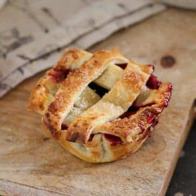 Mixed Berry Pies | Muffin Tin Recipe