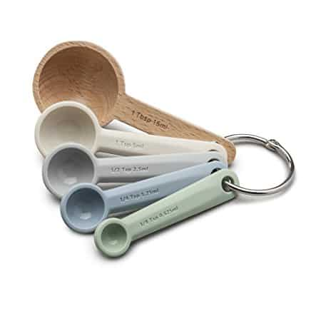 The Zeal Classic Wood & Silicone Measuring Spoons add a subtle and natural touch to your kitchen with their timeless look. RRP $16.99