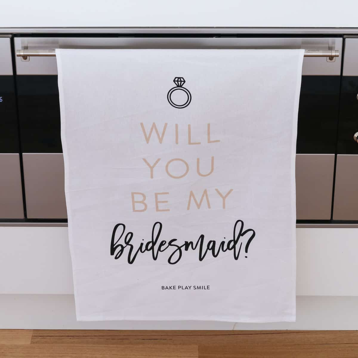 Will You Be My Bridesmaid? Tea Towel