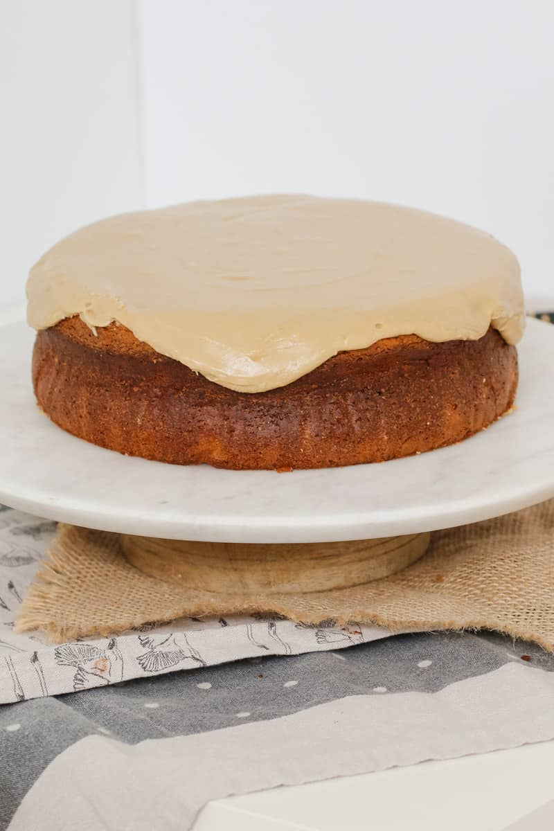 Our easy Caramel Mud Cake is just so simple to make. Melt, mix and bake... that's it! Smother with our yummy caramel frosting for the ultimate caramel mud cake!