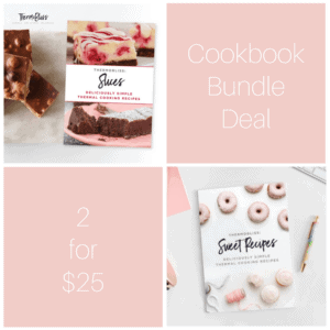 Thermomix Slices & Sweet Cookbook Bundle