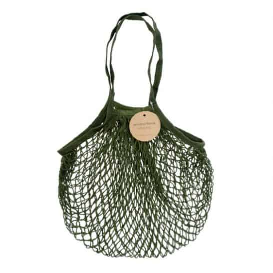 Olive Reusable String Bag