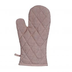The Tulle Mushroom Pink Oven Glove from Raine & Humble is a classic kitchen essential. Made from 100% cotton with a gorgeous pink grid overlay. RRP: $12.95
