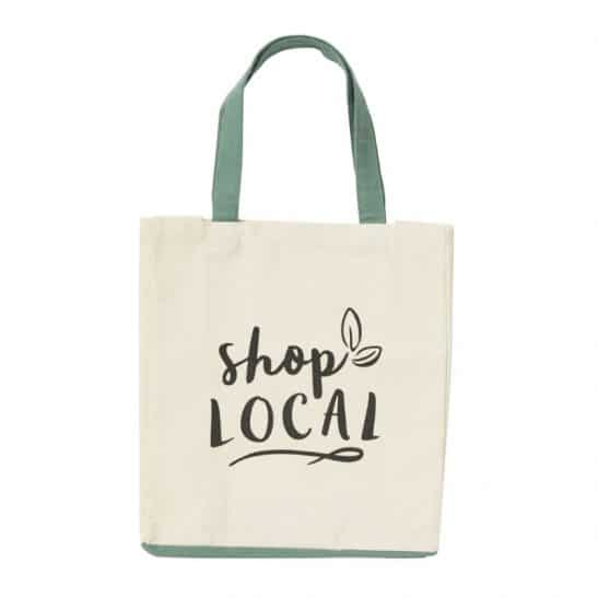 Shop Local Cotton Tote Bag