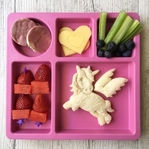 Make mealtime magic with our new Lunch Punch UNICORN sandwich cutters! Create a full-sized unicorn sandwich or heart shaped bite size pieces!