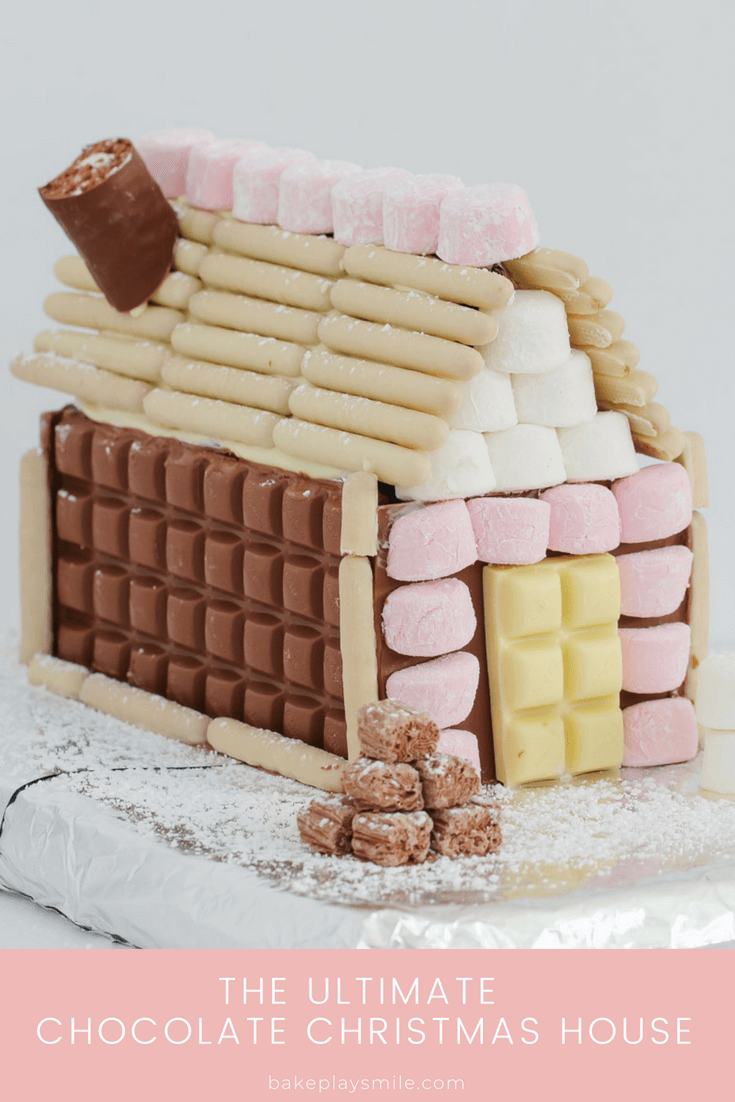 how to make a chocolate house for christmas