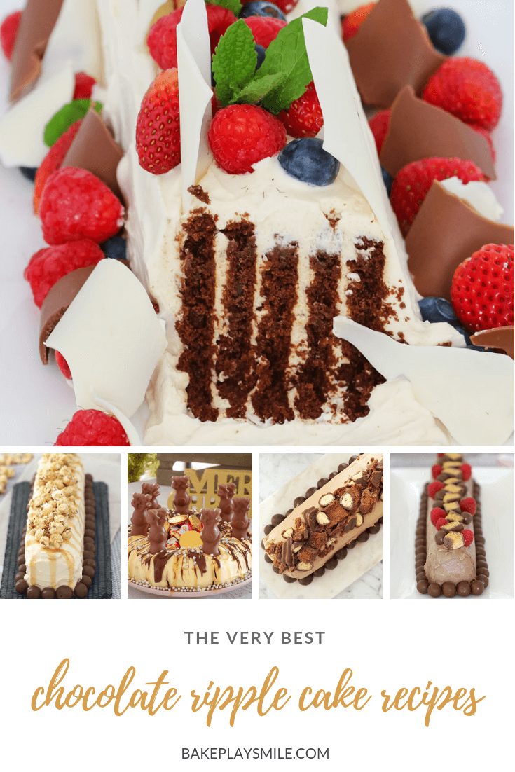 Browse our collection of the very best chocolate ripple cake recipes! With everything from Christmas-inspired chocolate ripple cakes, to cheeky Baileys versions and everything else in between!
