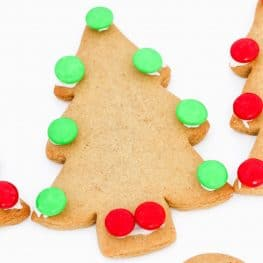 The easiest gingerbread recipe ever... perfect for making gingerbread men and Christmas trees! Decorate with the kids for a fun Christmas activity!