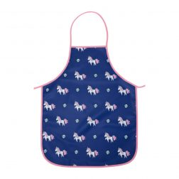 Inspire your budding baker with our Unicorn Kids Apron! Now with NEW Easy Wipe polyester fabric that's easy to wipe clean (perfect for messy cooks!).