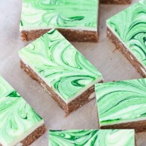 Our famous No-Bake Peppermint Chocolate Slice is now even better! A super easy sweet slice that only takes a few minutes to made!