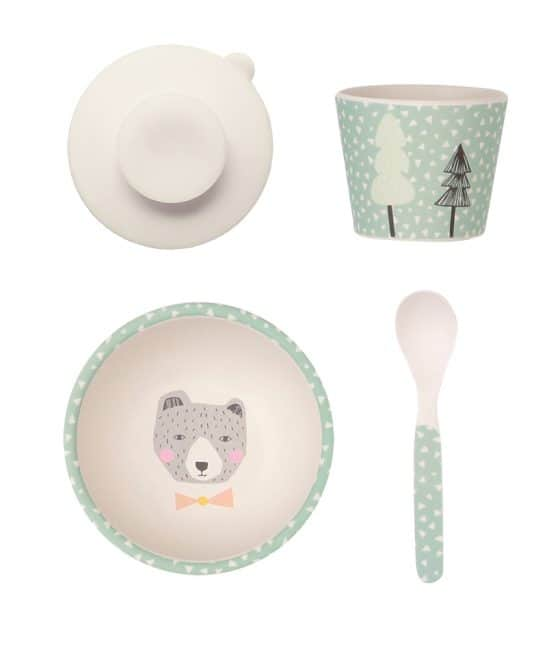 It doesn't get any cuter than the Bear Baby Feeding Set from the gorgeous Love Mae range - including a beautiful bamboo bowl, cup and spoon. RRP $25.00