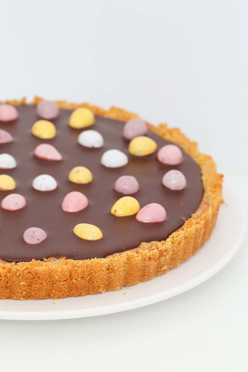 Easter Chocolate Caramel Tart Bake Play Smile
