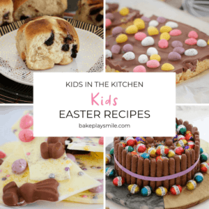 A collection of Easter treats decorated with Easter eggs and candy.