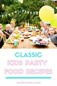 The ultimate collection of classic kids party food recipes... with everything from chocolate crackles to honey joys, cupcakes to slices, birthday cakes to savoury snacks!