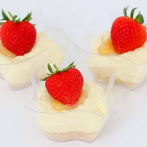 Fresh and zesty Lemon Cheesecakes that take just 15 minutes to make and are completely no-bake. The perfect individual dessert!