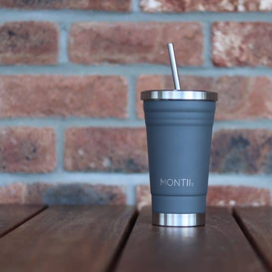 MontiiCo Grey Smoothie Cup
