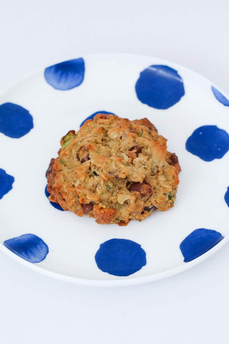 A cookie recipe using up grated zucchini.