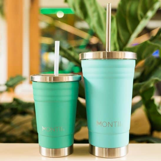 MontiiCo Green Mini Smoothie Cup