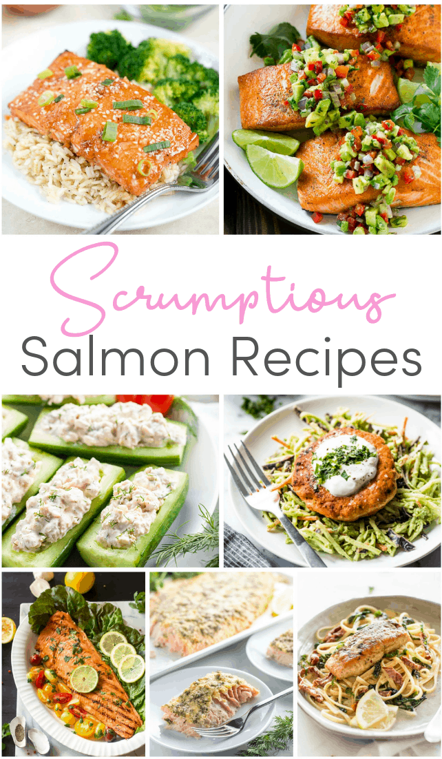 A collection of deliciously healthy salmon recipes bursting with good fats and Omega 3s - with everything from pasta dishes to oven tray bakes and grilled dinners.