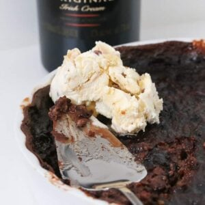 Our Baileys Self-Saucing Pudding is classic winter dessert recipe with a twist... a rich chocolate sponge pudding with a cheeky and indulgent Baileys sauce.