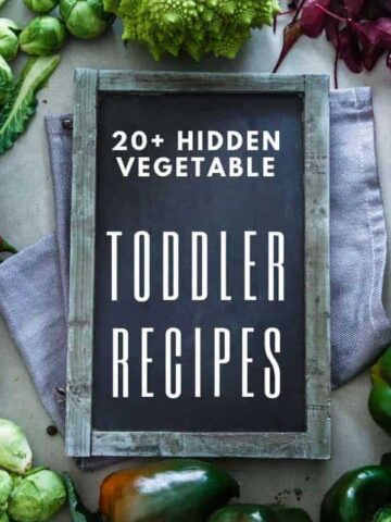 A collection of 20+ sweet and savoury toddler recipes with hidden vegetables... perfect for even the fussiest of eaters!!!