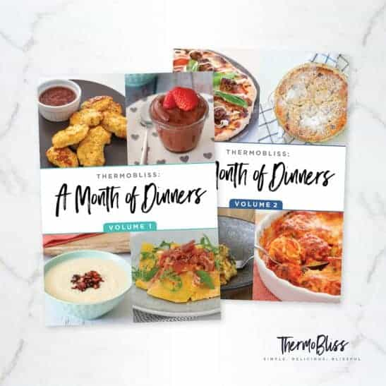 Two Thermomix Dinner cookbooks